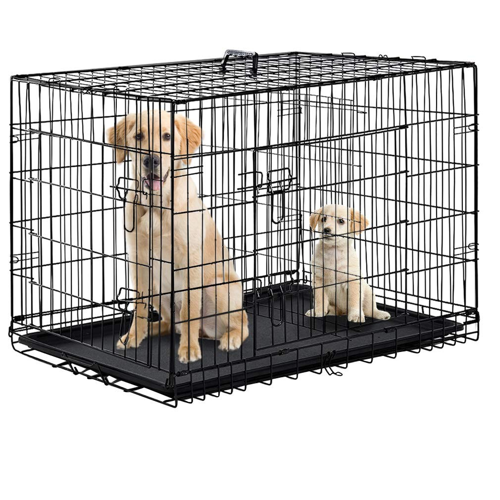 Wire Collapsible Dog Cage