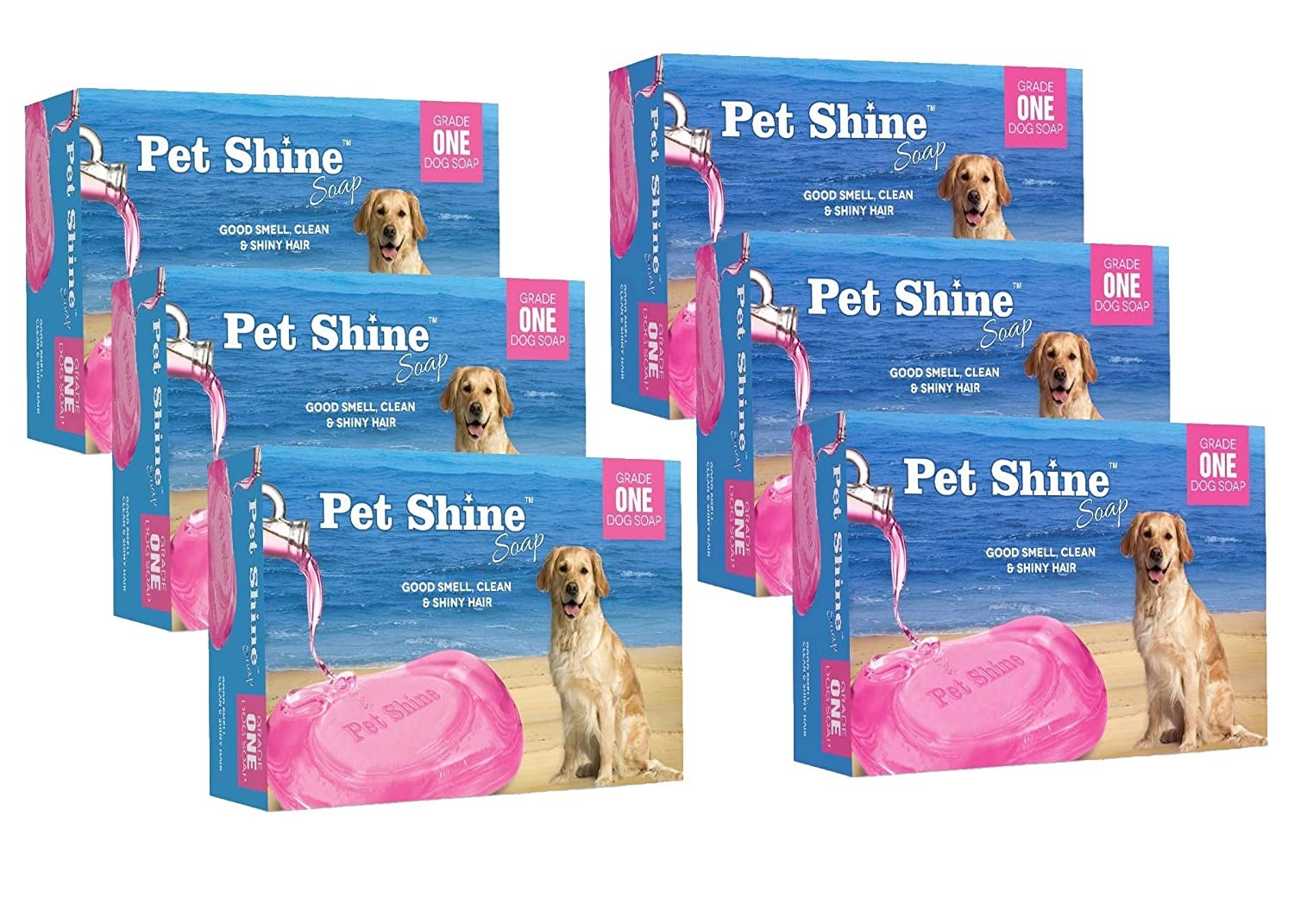pet shine soap