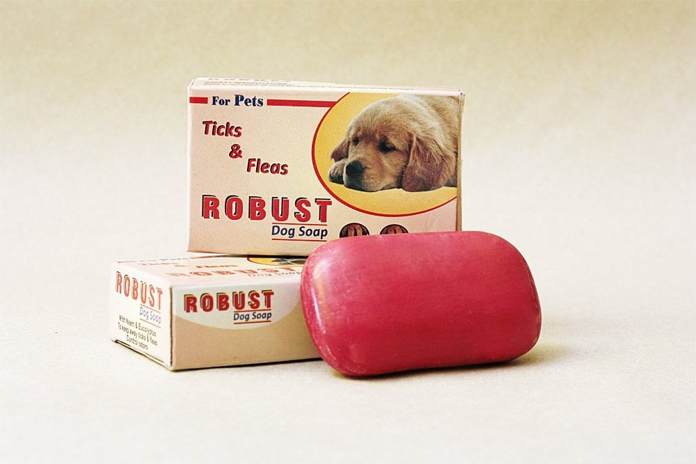 robust dog soap